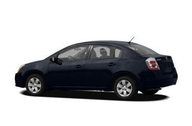 Surround 3/4 Rear - Drivers Side  2009 Nissan Sentra