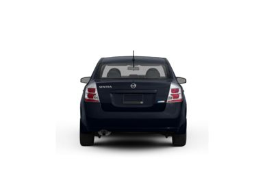Surround Rear Profile 2009 Nissan Sentra