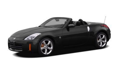 3/4 Front Glamour 2009 Nissan 350Z