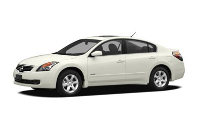 3/4 Front Glamour 2009 Nissan Altima Hybrid