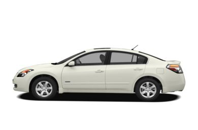 90 Degree Profile 2009 Nissan Altima Hybrid