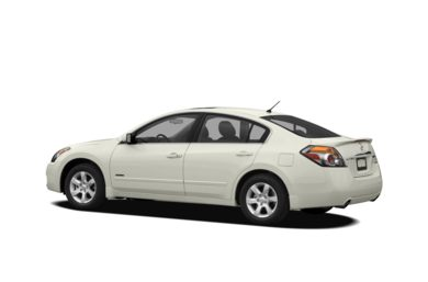 Surround 3/4 Rear - Drivers Side  2009 Nissan Altima Hybrid