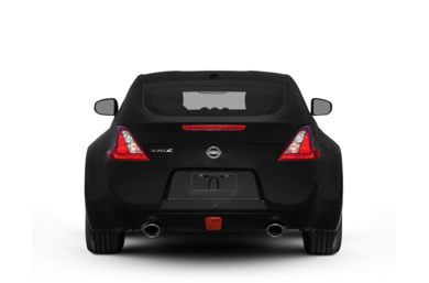 Rear Profile  2009 Nissan 370Z