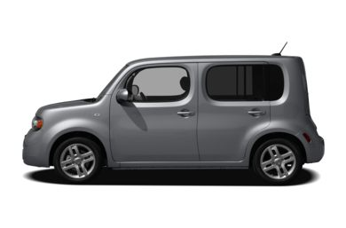 90 Degree Profile 2009 Nissan Cube