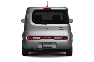 Rear Profile  2009 Nissan Cube