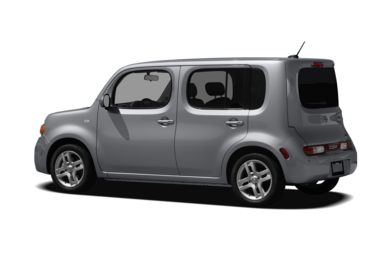 Surround 3/4 Rear - Drivers Side  2009 Nissan Cube