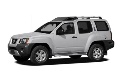 3/4 Front Glamour 2009 Nissan Xterra