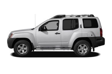 90 Degree Profile 2009 Nissan Xterra