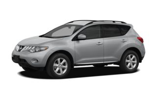 3/4 Front Glamour 2009 Nissan Murano