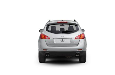 Surround Rear Profile 2009 Nissan Murano