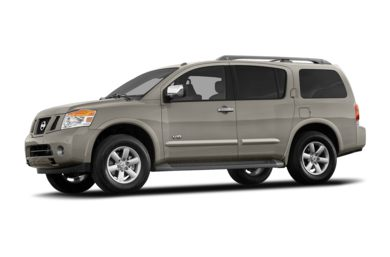 3/4 Front Glamour 2009 Nissan Armada