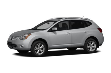 3/4 Front Glamour 2009 Nissan Rogue