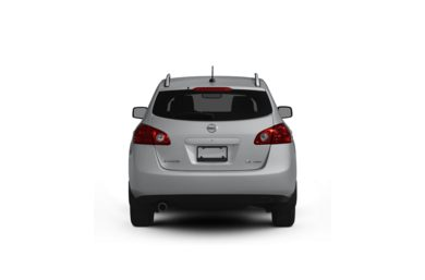 Surround Rear Profile 2009 Nissan Rogue