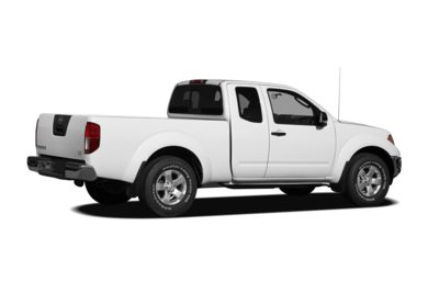 3/4 Rear Glamour  2009 Nissan Frontier