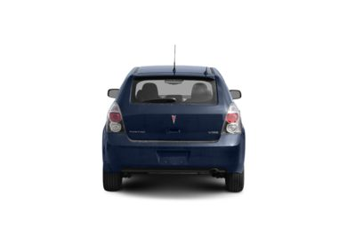 Surround Rear Profile 2009 Pontiac Vibe
