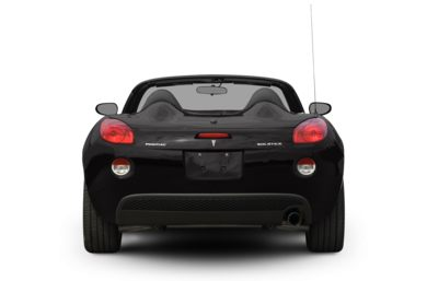Rear Profile  2009 Pontiac Solstice