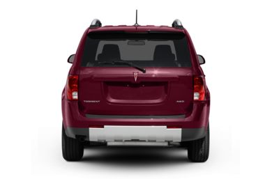 Rear Profile  2009 Pontiac Torrent