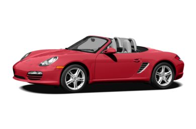 3/4 Front Glamour 2009 Porsche Boxster