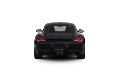Surround Rear Profile 2009 Porsche Cayman