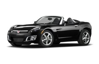 3/4 Front Glamour 2009 Saturn Sky