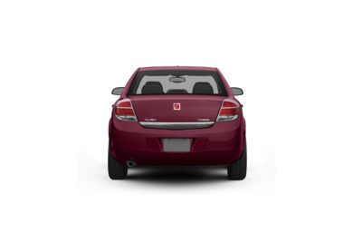 Surround Rear Profile 2009 Saturn Aura Hybrid
