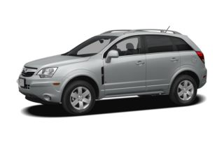 3/4 Front Glamour 2009 Saturn VUE