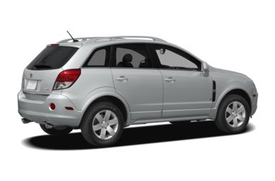 3/4 Rear Glamour  2009 Saturn VUE