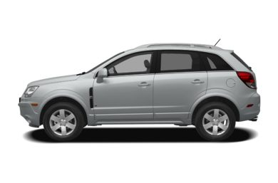 90 Degree Profile 2009 Saturn VUE