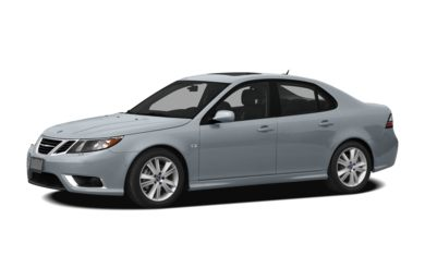 3/4 Front Glamour 2009 Saab 9-3