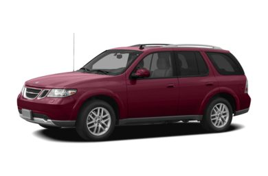 3/4 Front Glamour 2009 Saab 9-7X