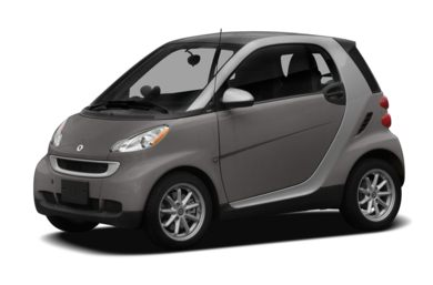 3/4 Front Glamour 2009 smart fortwo