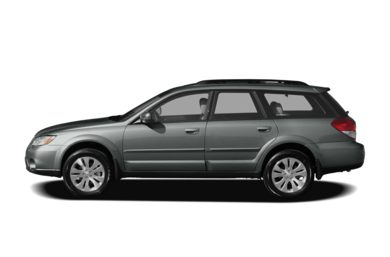 90 Degree Profile 2009 Subaru Outback