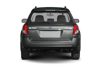 Rear Profile  2009 Subaru Outback