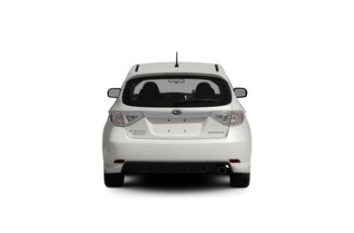 Surround Rear Profile 2009 Subaru Impreza