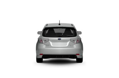 Surround Rear Profile 2009 Subaru Impreza WRX
