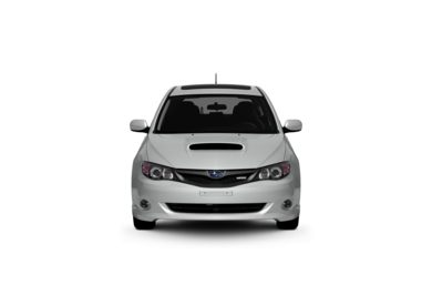 Surround Front Profile  2009 Subaru Impreza WRX