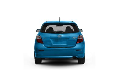 Surround Rear Profile 2009 Toyota Matrix