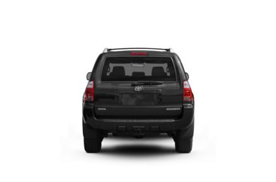 Surround Rear Profile 2009 Toyota 4Runner
