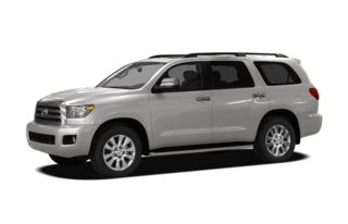 3/4 Front Glamour 2009 Toyota Sequoia