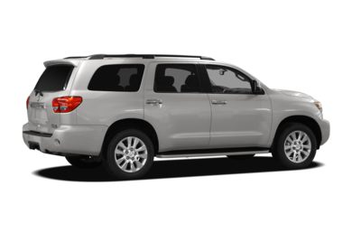 3/4 Rear Glamour  2009 Toyota Sequoia