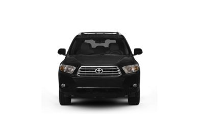 Surround Front Profile  2009 Toyota Highlander