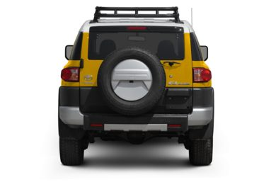 Rear Profile  2009 Toyota FJ Cruiser