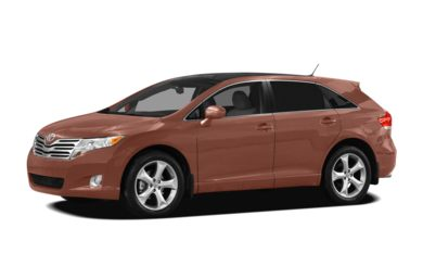3/4 Front Glamour 2009 Toyota Venza