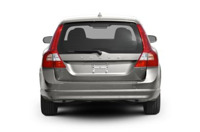 Rear Profile  2009 Volvo V70