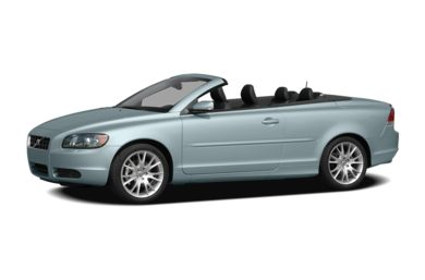 3/4 Front Glamour 2009 Volvo C70