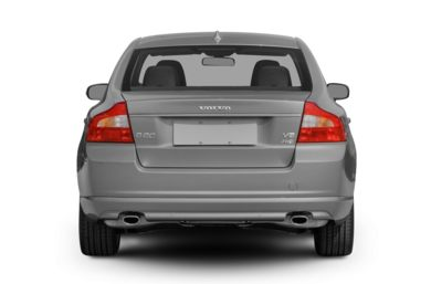 Rear Profile  2009 Volvo S80