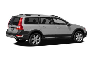 3/4 Rear Glamour  2009 Volvo XC70