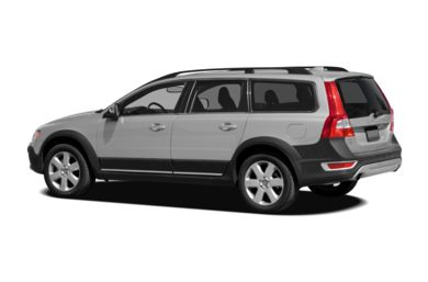 Surround 3/4 Rear - Drivers Side  2009 Volvo XC70