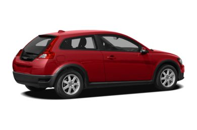 3/4 Rear Glamour  2009 Volvo C30