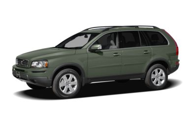 3/4 Front Glamour 2009 Volvo XC90